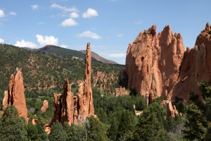 """El """"Jardín de los Dioses"""" es un tesoro para los escaladores, senderistas y jinetes."""